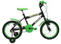 Bicicleta Infantil Masculina Aro 16 - Preto / Verde - Cairu