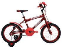 Bicicleta Infantil Masculina Aro 16 - Vermelha - Cairu