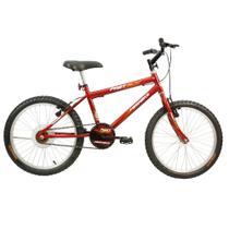 Bicicleta Infantil Masculina Aro 20 Fast Boy Free Vermelha - Mega Bike