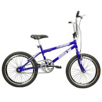 Bicicleta Infantil Masculina Aro 20 FMX - Azul com Preto - Mega Bike