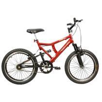 Bicicleta Infantil Masculina Aro 20 MB Gold Vermelho c Preto - Megabike