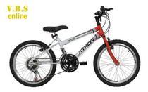 Bicicleta Infantil Masculina Athor Aro 20 Evolution Mtb -