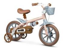Bicicleta Infantil Menina Aro 12 Antonella Baby Nathor -
