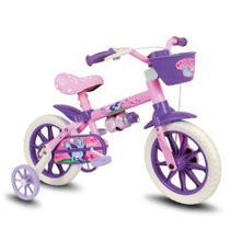 Bicicleta Infantil Menina Aro 12 Cat - Nathor -