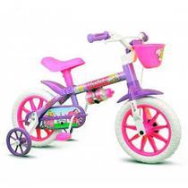 Bicicleta Infantil Menina ARO 12 Violet 2 Nathor -