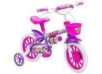 Bicicleta Infantil Menina Aro 12 Violet - Nathor - Pink -