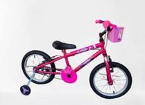 Bicicleta infantil menina Frozen Rosa - Wendy