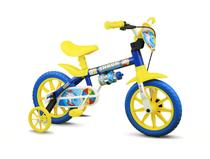 Bicicleta Infantil Menino Aro 12 Shark - Nathor -