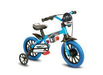 Bicicleta Infantil Menino Aro 12 Veloz - Nathor - Azul -