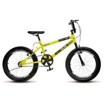 Bicicleta Infantil Menino Masculina Aro 20 Colli Cross Extreme - Amarelo Neon - Colli Bike