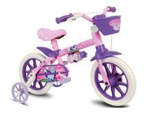 Bicicleta Infantil Nathor Aro 12 Menina Cat De 3 A 5 Anos -