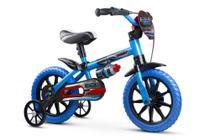 Bicicleta Infantil Nathor Aro 12 Menino Veloz De 3 A 5 Anos -