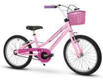 Bicicleta Infantil Nathor Aro20 Menina Bella 9 A 11 Anos -