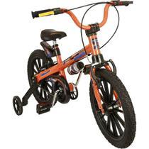 Bicicleta Infantil Nathor Extreme Aro 16 Masculina Laranja/preto -
