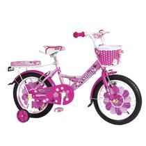 Bicicleta Infantil Princess Aro 16 Unitoys Com Garupa Rosa -