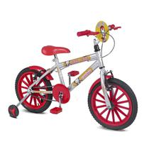 Bicicleta Infantil Rainbow Bike Aro 16 Iron Boy