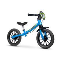 Bicicleta infantil sem pedal balance bike masculina 03 equilibrio - azul - Nathor