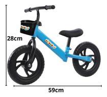Bicicleta Infantil sem Pedal Balance Suporta até 25 Kg Azul - IMPORTWAY