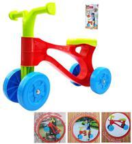 Bicicleta infantil triciclo equilibrio bebe sem pedal bike rider menino e menina com 4 rodas - Makeda