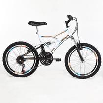 Bicicleta Infantil Tridal Full Suspensão aro 20 36 Raios Freios V-brake - Tridal Bike