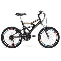 Bicicleta Infantil Tridal Full Suspensão aro 26 36 Raios Freios V-brake - Tridal Bike