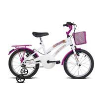 Bicicleta Infantil Verden Bikes aro 16 Breeze Branco e Pink 10009 - 5 a 8 Anos -