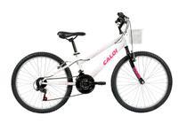 Bicicleta Infanto Juvenil Caloi Ceci Aro 24 - 21 Marchas -