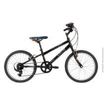 Bicicleta Infanto Juvenil Caloi Hot Wheels Aro 20 - 7 Velocidades - Preto -