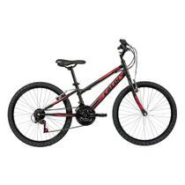 Bicicleta Infanto Juvenil Caloi Max Aro 24 - 21 Velocidades - Preto -