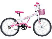 Bicicleta Infatil Aro 20 Caloi Ceci - Branca Freio V-brake