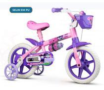Bicicleta Infential Aro 12 Feminina Selim PU Nathor -