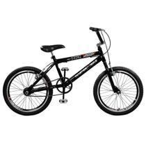 Bicicleta Jump Aro Aero 20 36 Raios Preta Master Bike -