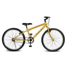 Bicicleta Kyklos Aro 24 Move Sem Marchas Amarelo -
