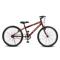 Bicicleta Kyklos Aro 24 Move Sem Marchas Vermelho -