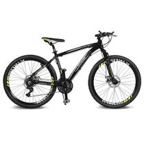 Bicicleta Kyklos Aro 26 Kivnon 8.5 Freio a Disco A-36 Preto/Verde -