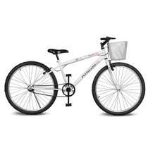 Bicicleta Kyklos Aro 26 Magie Sem Marchas Branca -