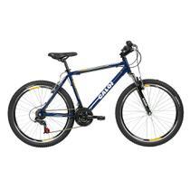 Bicicleta Lazer Caloi Commander Aro 26 - Quadro Alumínio - 21 Velocidades - Azul -