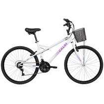 Bicicleta Lazer Ventura Aro 26 Branco - Caloi -