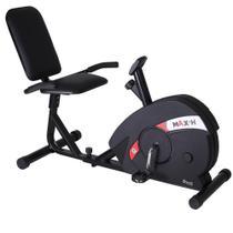 Bicicleta Magnética Horizontal Ergométrica Max H Dream - Dream Fitness