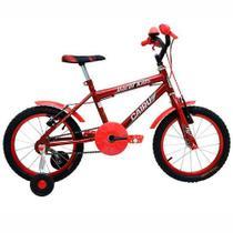 Bicicleta Masculina Aro 16 Freio V-Break Racer Kids Cairu -