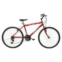 Bicicleta Masculina Aro 26 21 Marchas Flash Pop Bike - 310918