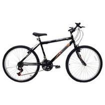 Bicicleta Masculina ARO 26 21 Marchas FLASH POP Bike - 310919 Preto -