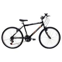Bicicleta Masculina Aro 26 21 Marchas Flash Pop Bike Freio V-break - Cairu