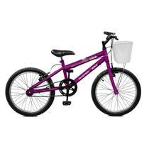 Bicicleta Master Bike Aro 20 Serena Freio V-Brake Violeta -
