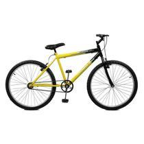 Bicicleta Master Bike Aro 26 Ciclone Freio V-Brake Amarelo/Preto -