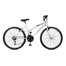 Bicicleta Master Bike Aro 26 Emotion 18 Marchas V-Brake Branco -