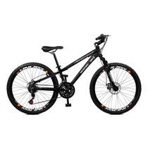Bicicleta Master Bike Aro 26 Free Rider Freio à Disco A-36 21 V Preto -