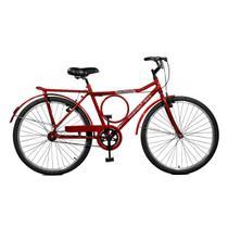 Bicicleta Master Bike Aro 26 Super Barra Freio V-Brake Vermelho -