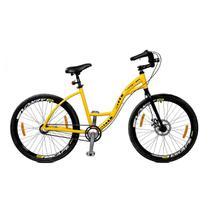 Bicicleta Master Bike Aro 26 Urbis Freio à Disco 3 V Nexus Amarelo -