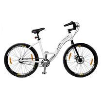 Bicicleta Master Bike Aro 26 Urbis Freio à Disco 3 V Nexus Branco -
